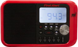 First Alert Clock Radio