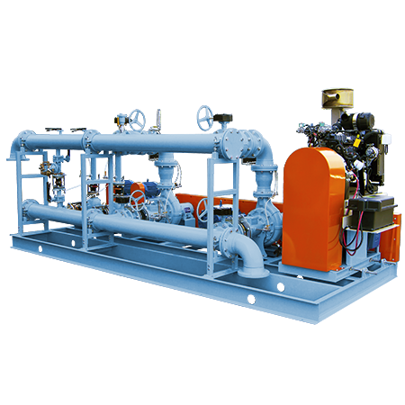 Auto-Start Pressure Booster Stations Packaged Pumping Systems