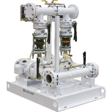Estaciones de bombas elevadoras de presión montadas en base, sistemas de bombeo prefabricados