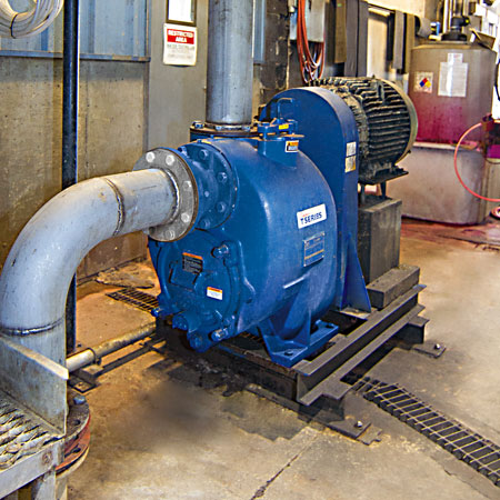self priming pump self primer