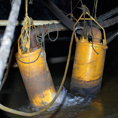 Bombas (subterráneas) para minería