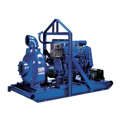 80 Series (Engine Driven)  Self-Priming Centrifugal Pumps