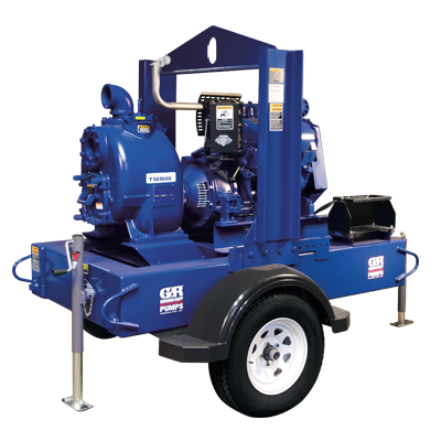 Super T Series (Engine Driven)  Self-Priming Centrifugal Pumps