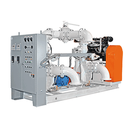 Auto-Start Pump Lift Station Packaged Pumping Systems