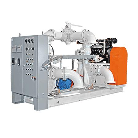 Sistemas de bombeo prefabricados con arranque automático